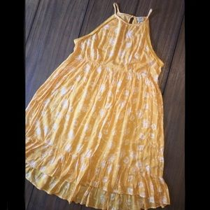 Juniors High Neck Summer Dress